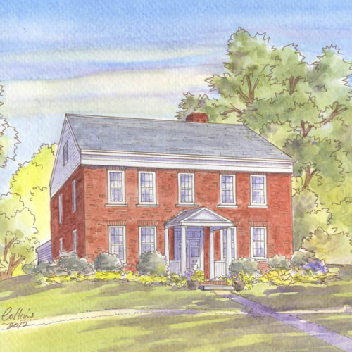 Historic house portrait: East Berlin, CT