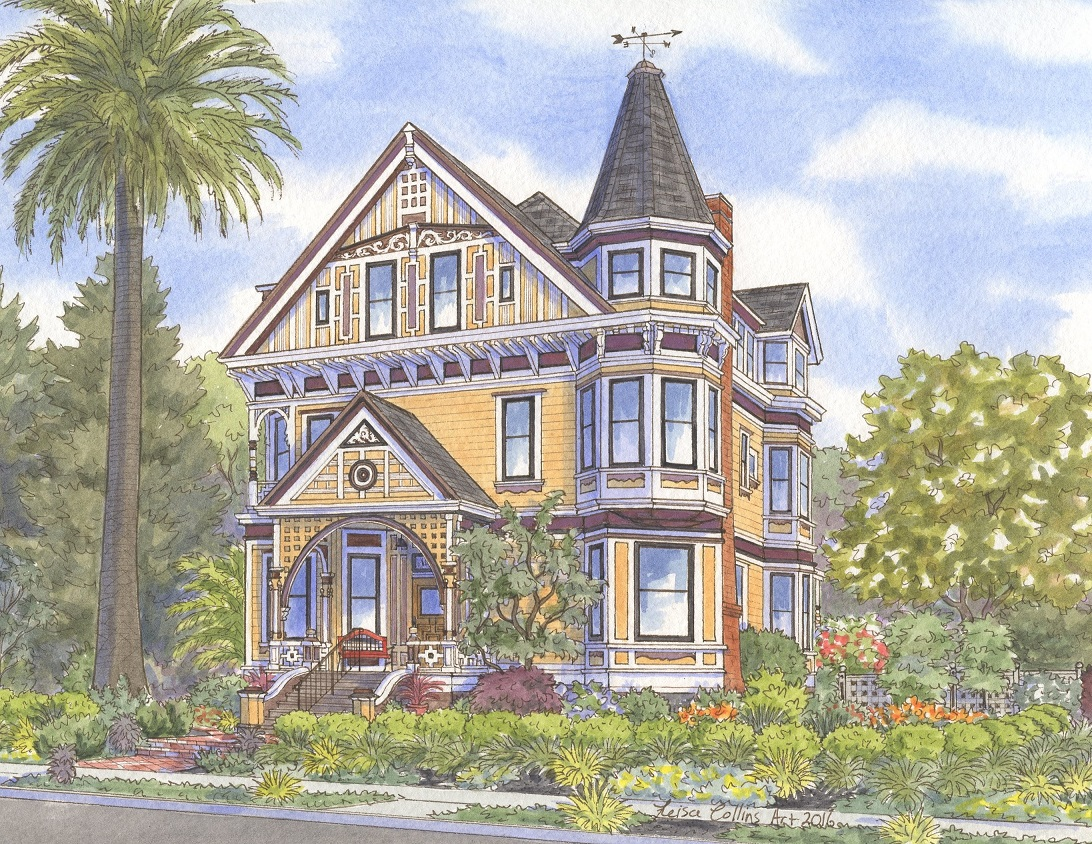Alameda CA – Where Victorian Home Portrait Subjects Abound!